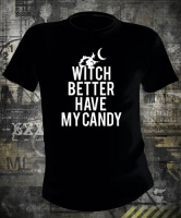 Футболка Witch Better Have My Candy