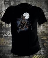 Футболка Wolf With Moon
