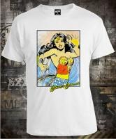 Футболка Wonder Woman Poster
