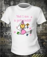 Футболка Yes I am a Princess