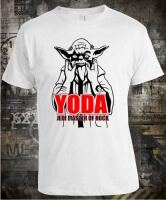 Футболка Yoda Jedi Master of Rock