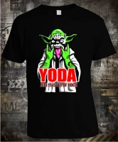 Футболка Yoda Jedi Master of Rock Color
