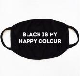Маска Black is My Happy Colour
