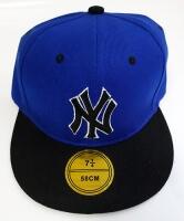 Кепка New York Yankees с прямым козырьком